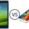 Xiaomi mi pad 7.9 vs Samsung Galaxy Tab a 8,0 - xiaomi fléchit muscles contre Samsung