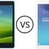 Xiaomi mi pad 7.9 vs Samsung Galaxy Tab 9.6 e - bataille des tablettes d'entrée de gamme