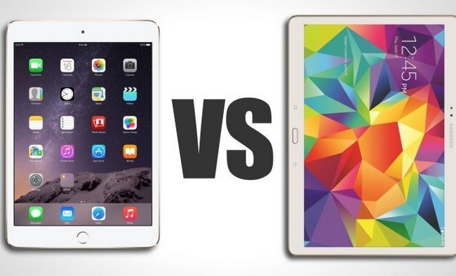 Photographie - Nexus 9 vs iPad 2 vs air onglet Samsung Galaxy S - meilleure tablette de 2015?
