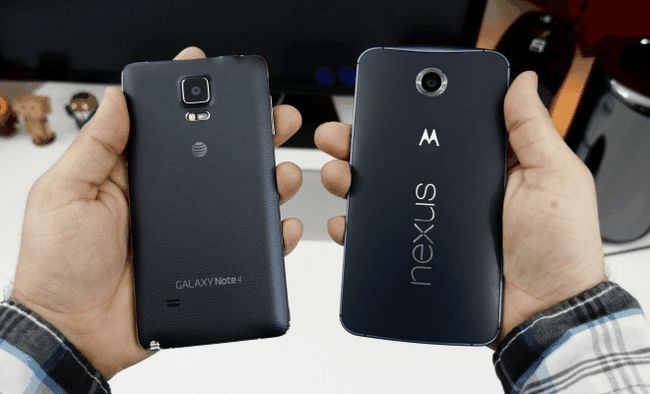 Photographie - Samsung Galaxy Note 5 vs Nexus 6 - samsung plus grande crainte pour google?